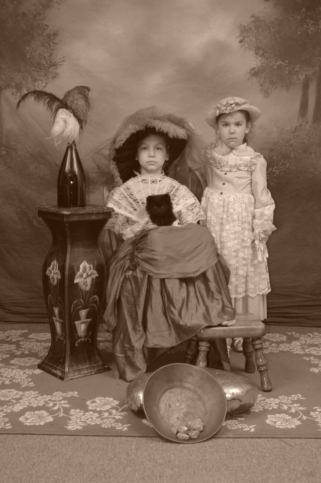 Old Fashion Portrait, Peabody's Photo Parlour, Dawson City, Yukon